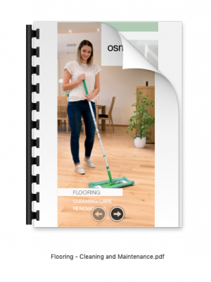 flooring cleaning osmo